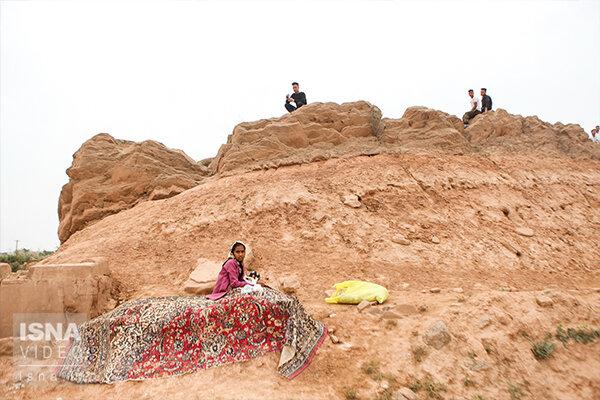 ویدئو / وضعیت اسکان مردم روستاهای سیلزده در شهرستان حمیدیه