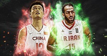 نظرسنجی FIBA برای انتخاب بهترین سنتر آسیا/ حامد حدادی یا یائو مینگ؟