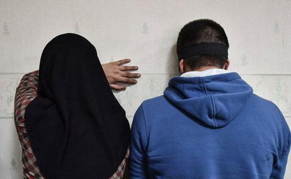زوج زورگیر دستگیر شدند