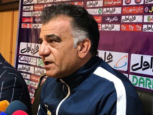 بیژن طاهری: هواداران برای خداحافظی حیدری به ورزشگاه بیایند/مشکل تمرین نکردن بازیکنان حل میشود