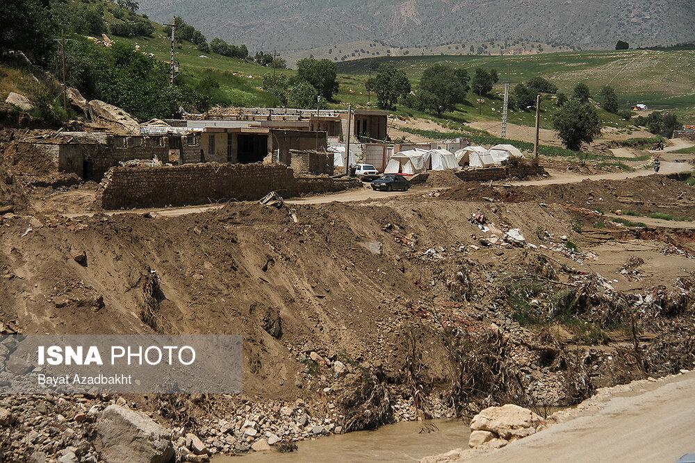 خسارات سیل به بیش از ۴۰ هزار میلیارد تومان رسید