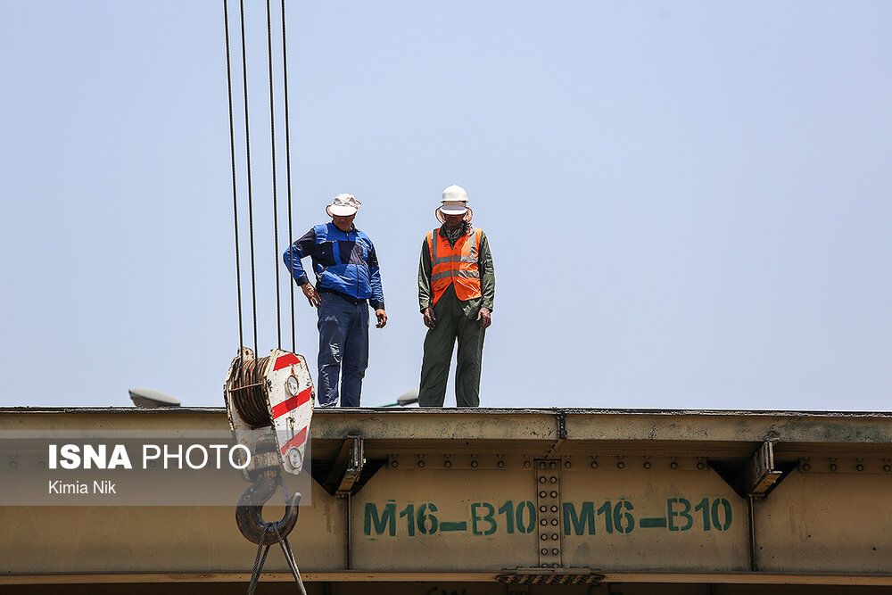 آخرین تیر آهن پل گیشا به موزه میرود؟