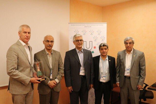 دیدار مسئولان کاروان ایران با رئیس فیزو/ ماتیستین: از توجه ایران به ورزش زنان خوشحالیم