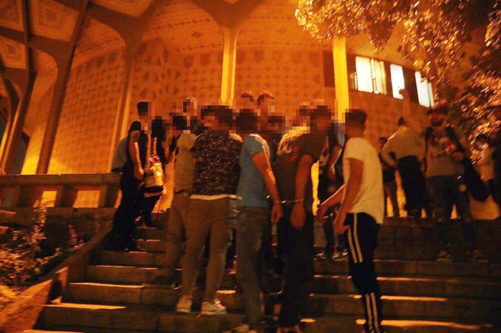 طرح ضربتی پلیس در پارک دانشجو و محوطه تئاترشهر + عکس