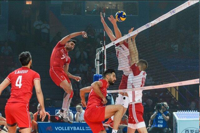 فینال لیگ ملتهای والیبال / ایران ۱ – لهستان ۱
