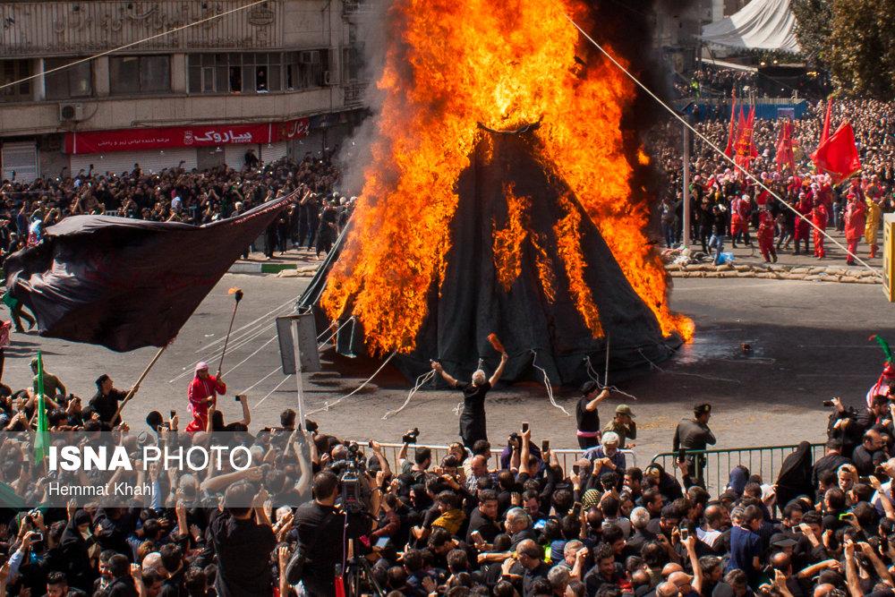 توصیههای آتش نشانی در اجرای مراسم خیمه سوزی