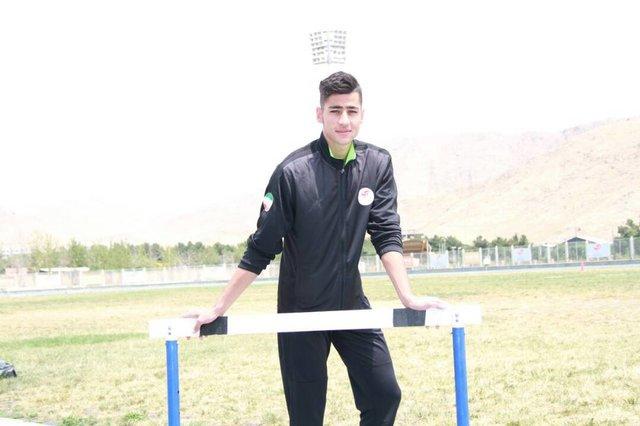 دونده ۴۰۰ متر ایران: به اوج نرسیدهام اما رکوردهایم امیدوار کننده است