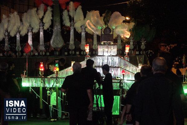 ویدئو / عزاداری شب عاشورا در تهران
