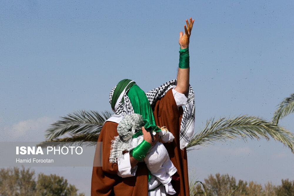 نمایش خیابانی واقعه عاشورا در خادم آباد شهریار