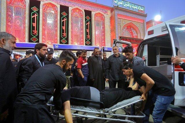 انتقال پیکر زائر جانباخته در کربلا به ایران