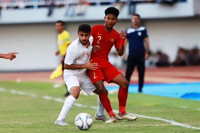 شکست تیم ملی جوانان مقابل اندونزی با اشتباه فاحش دروازهبان