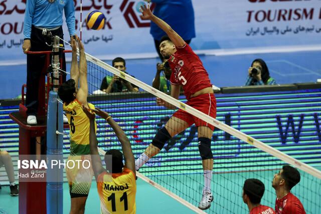 پیروزی والیبال ایران مقابل چین تایپه/ دیدار با کره در نیمه نهایی
