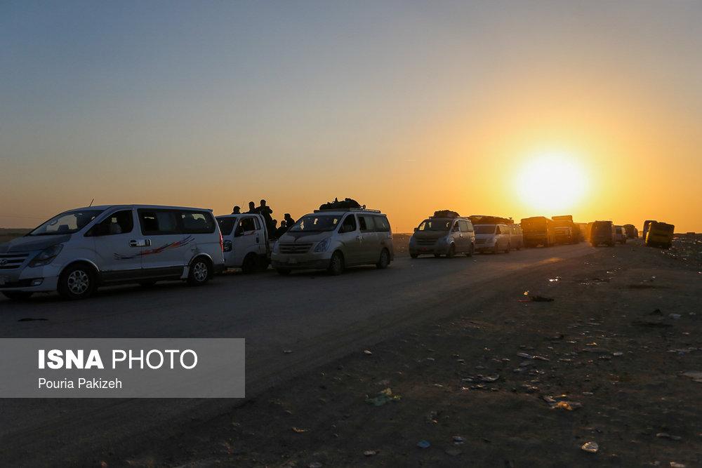 تصادف ون حامل زائران ایرانی در عراق چند مجروح برجای گذاشت