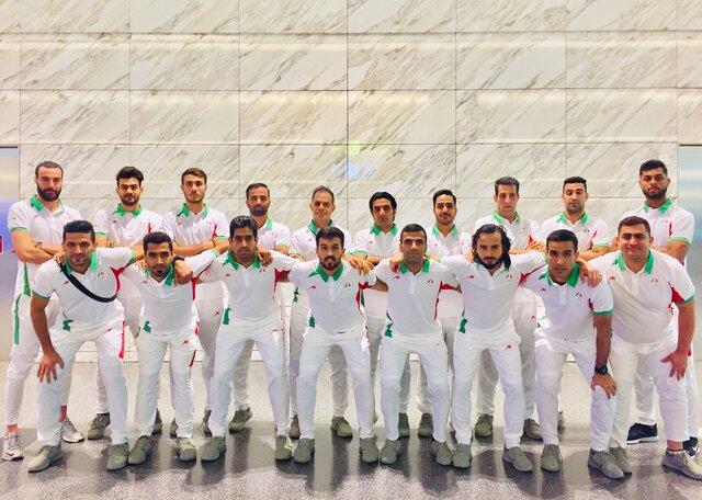 تیم ملی فوتبال ساحلی ایران وارد قطر شد