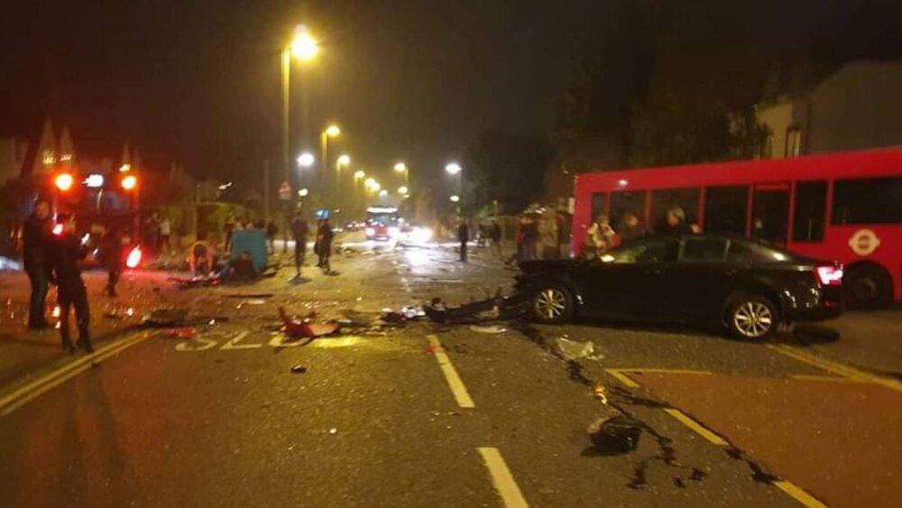 سانحه رانندگی در جنوب لندن قربانی گرفت
