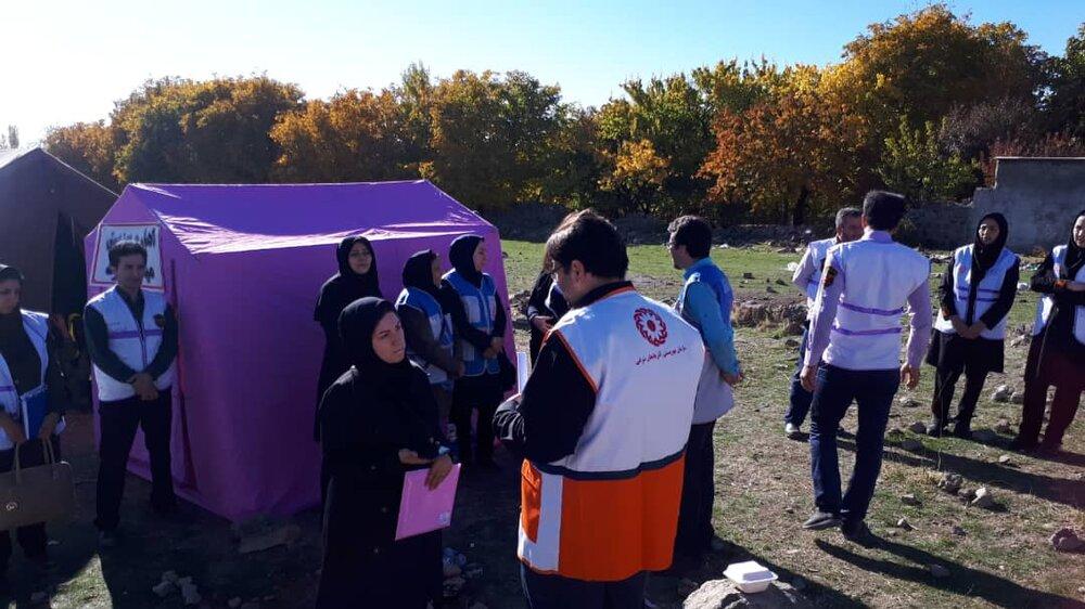 اعزام تیمهای روانشناسی به مناطق زلزلهزده