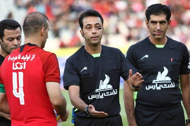 نماینده داوران در انتخابات فدراسیون فوتبال مشخص شد