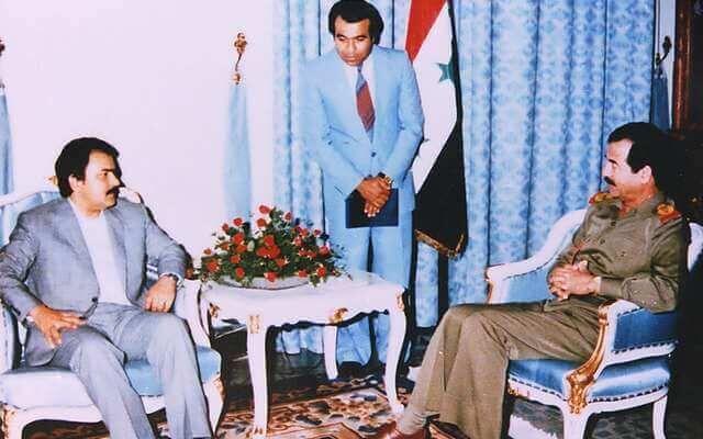 عربده کشی مسعود رجوی جلاد بعد از بیست سال