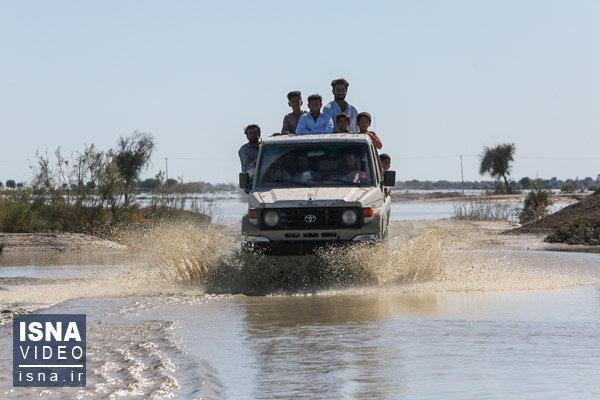 ویدئو / سیل در سیستان و بلوچستان