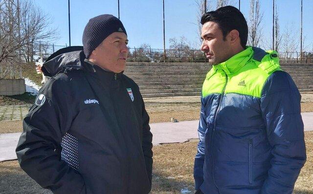 اسکوچیچ در تمرین فولاد: نکونام آینده مربیگری فوتبال ایران است