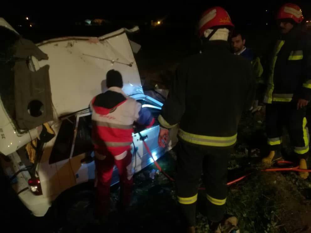 ۶ کشته در حادثه رانندگی شرق گلستان