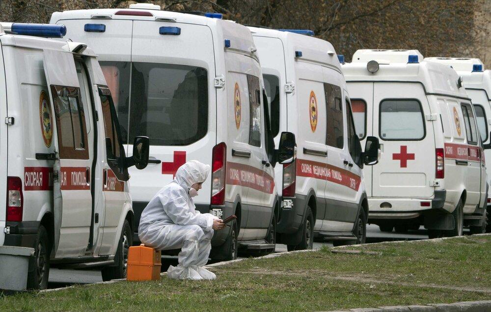 ۶۷۱۹ بیمار، کمترین رقمِ مبتلایانِ کرونا طی ۲۴ ساعت گذشته در روسیه