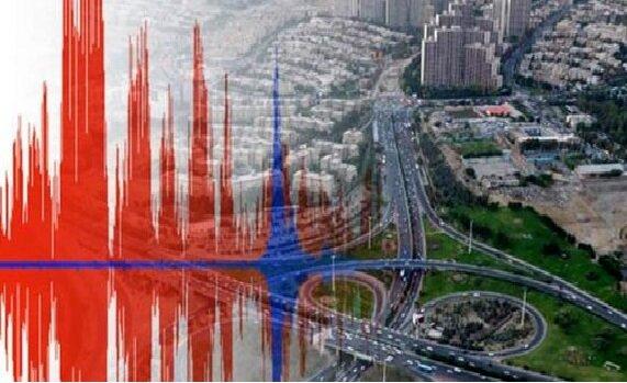 رخداد زلزله در قیامدشت تهران بر روی گسل ایوانکی/قشم با زمین لرزه ۴.۴ لرزید