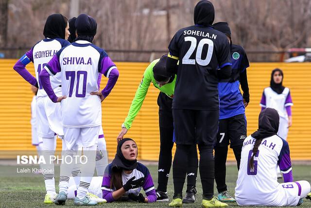 """اعتراض دختران فوتبالیست به بلاتکلیفی لیگ/ """"لطفا به بانوان احترام بگذارید!"""""""