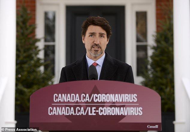 ابراز نگرانی نخستوزیر کانادا از آمار بالای کرونا در آمریکا