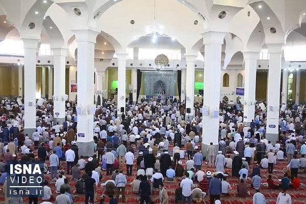 ویدئو / نماز جماعت و جمعه بعد از چهار ماه وقفه