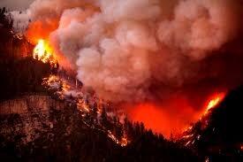 وقوع آتشسوزی گسترده در مرز آریزونا و یوتا