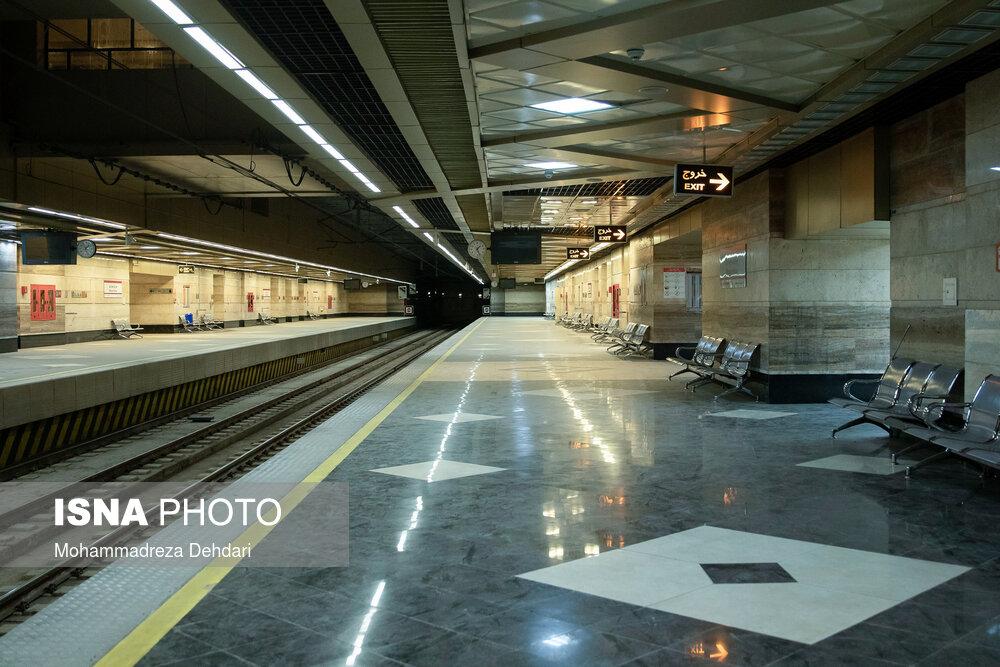 ساخت ایستگاه های متروی جدید در شمال غرب تهران