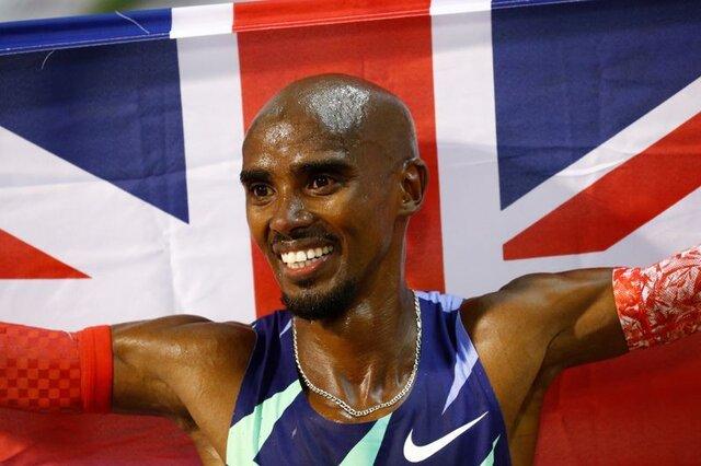 محمد فرح از ماده ۵۰۰۰ متر المپیک کنار کشید