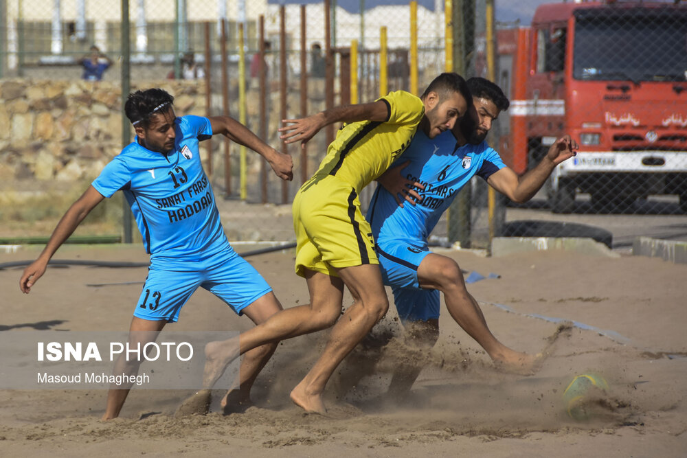 مرحله نهایی لیگ برتر فوتبال ساحلی کشور