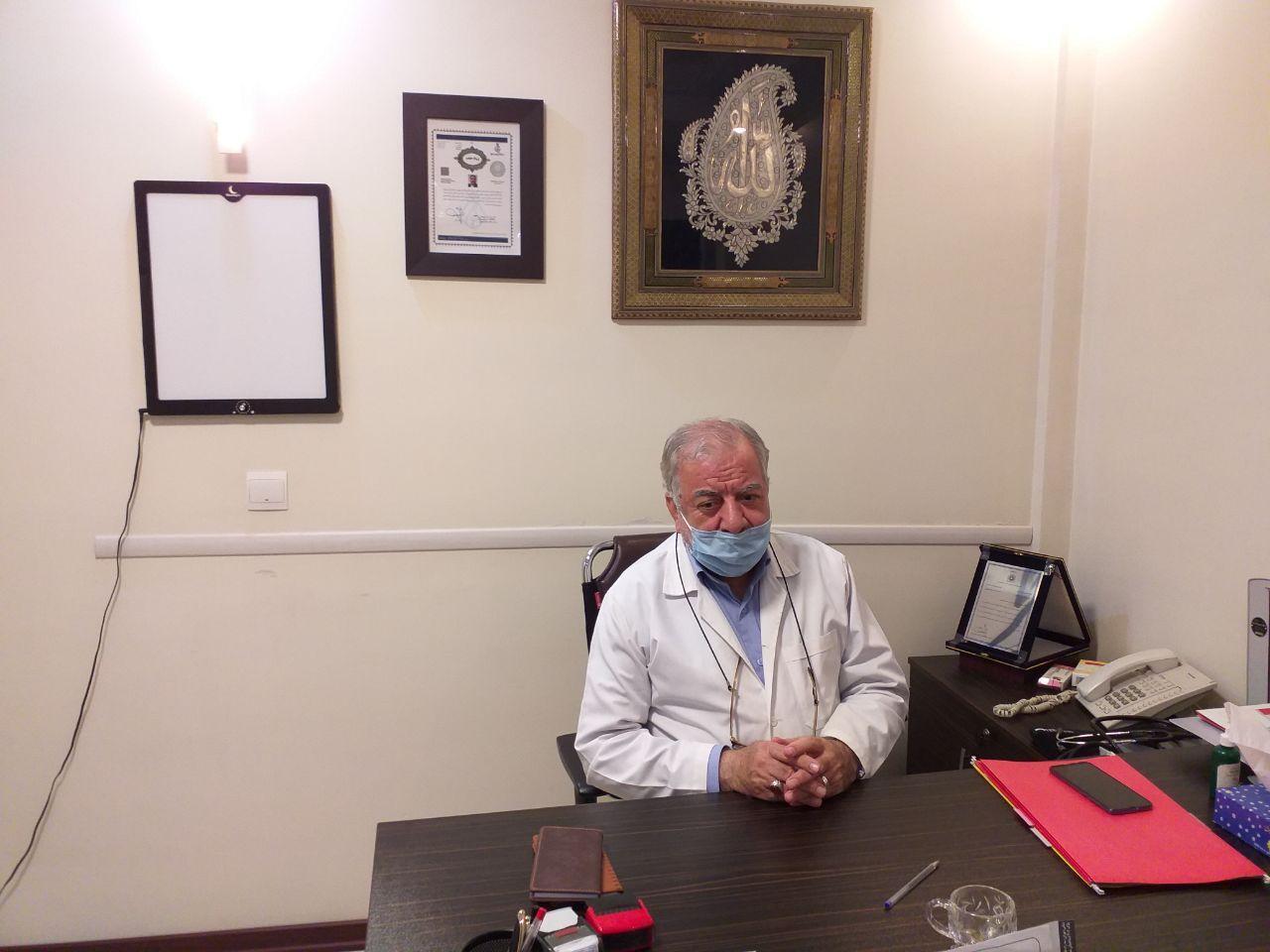 جامعه پزشکی مثل زمان جنگ روسفید شد