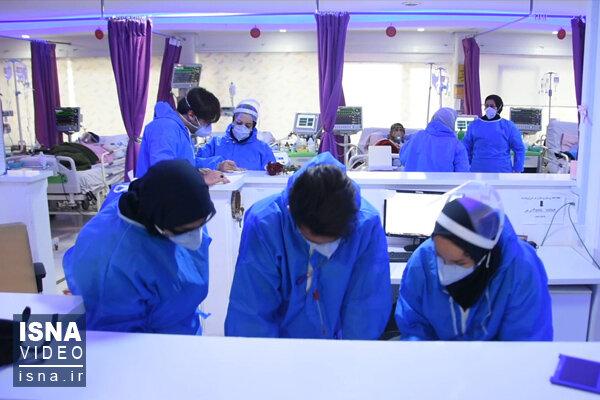 ویدئو / وضعیت بیمارستان کوثر سمنان؛ کاهشی اما پرمراجعه