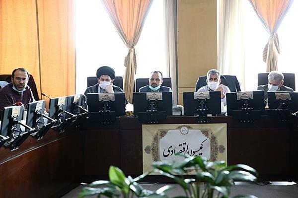 بررسی گزارش شفافیت تراکنشها در کمیسیون اقتصادی