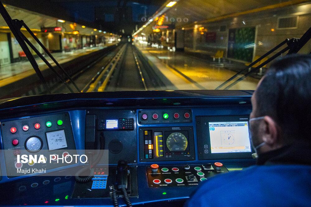 افزایش ساعت کار متروی تهران تا ساعت ۲۴ امشب /۱۲ ایستگاه دارای شعب اخذ رای هستند