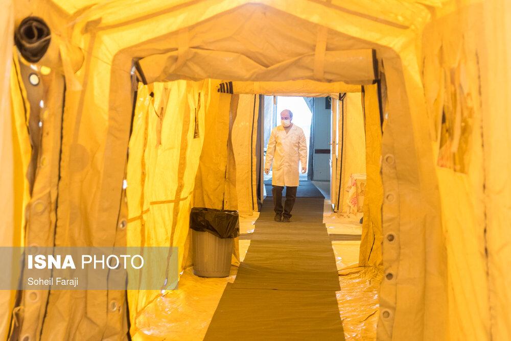 بیمارستانهای صحرایی برای بستریهای کرونایی آماده میشود