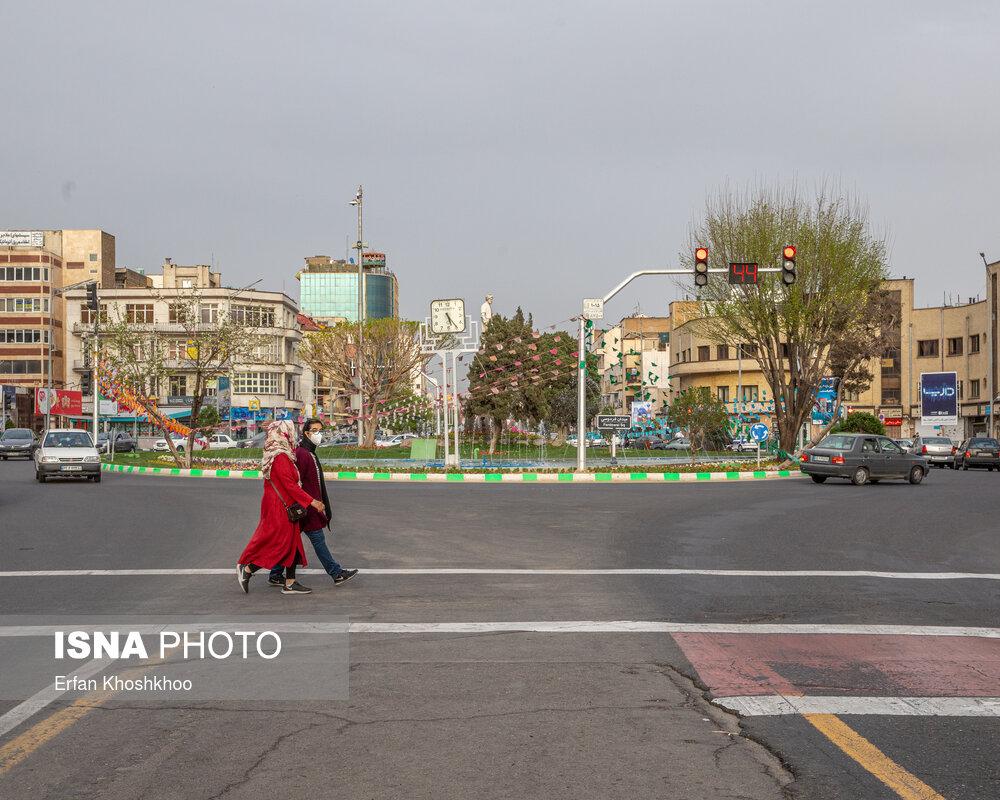 هوای تهران در ماه جاری نسبت به فروردین ۹۹ آلودهتر شده است