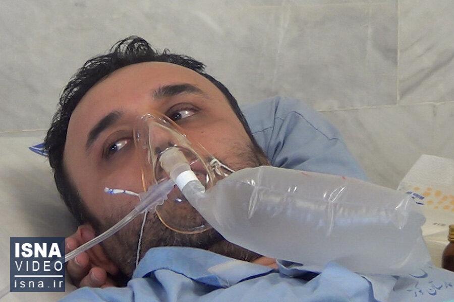 ویدئو / بیمارستان کوثر سمنان در وضعیت قرمز کرونایی