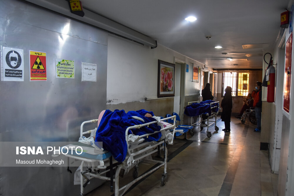 جم در مرحله هشدار /تختهای بخش کرونای بیمارستان توحید جم پر شد