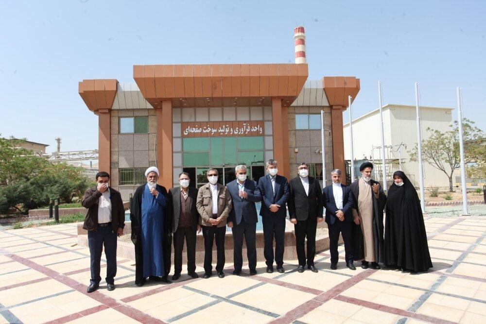 بازدید اعضای کمیسیون امنیت ملی و انرژی مجلس از چهار سایت هستهای کشور