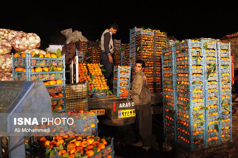 تاثیر خرید تجار کشورهای همسایه بر بازار میوه و تره بار خوزستان