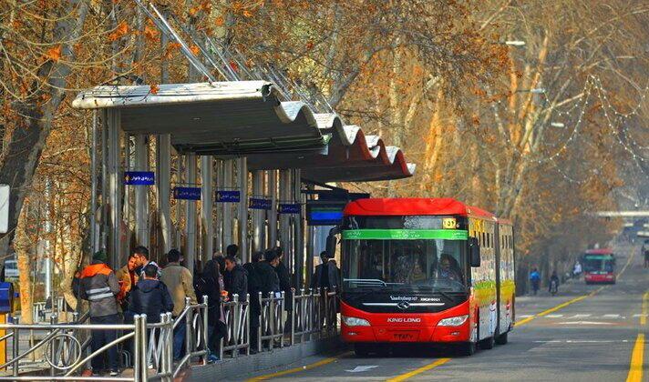 تغیییر مسیر اتوبوس ها در خطوط عبوری و منتهی به محل برگزاری مراسم تحلیف ریاست جمهوری