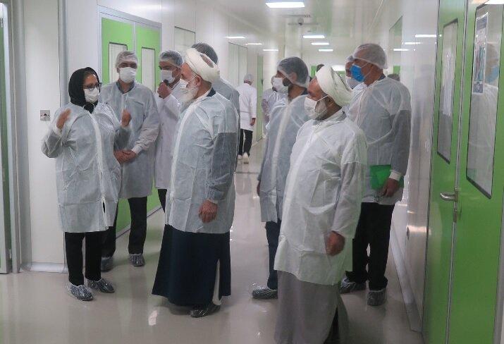 توسعه کشت و صنعت گیاهان دارویی در یکی از شرکتهای دانش بنیان