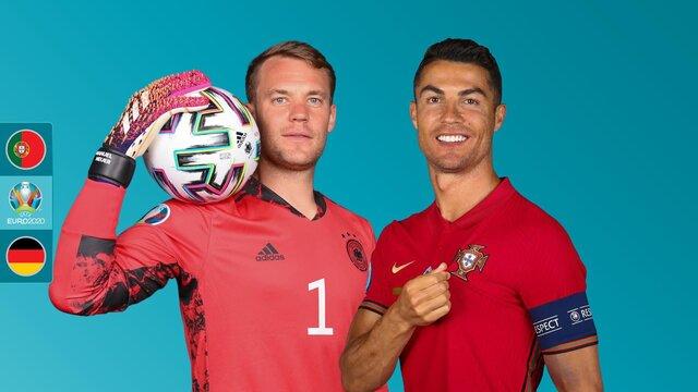 رونالدو و مشکل همیشگی مقابل آلمان