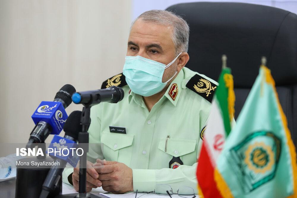 نیروی انتظامی با قاطعیت با مخلان نظم و امنیت برخورد میکند