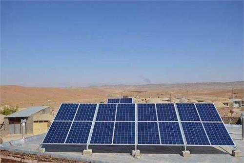 ایجاد نیروگاههای کوچک خورشیدی روی بام ساختمانها و بوستانهای شهرداری تهران