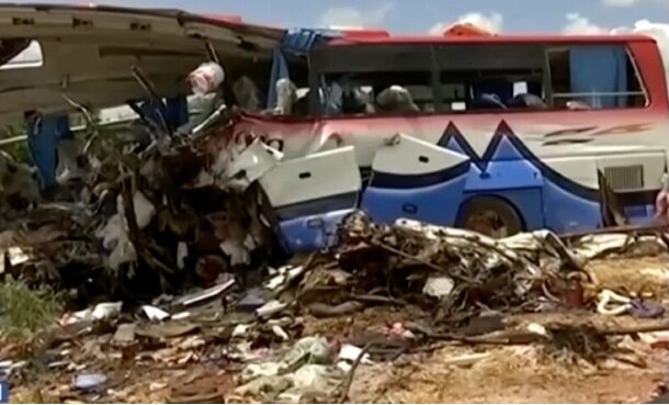 ۴۱ کشته در حادثه برخورد کامیون با اتوبوس در مالی